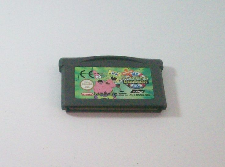 #Spongebob #Schwammkopf- Der Film #Nintendo #Gameboy Advance ( #GBA ) #eBay
