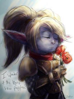 Poppy - League of Legends by Seltiair