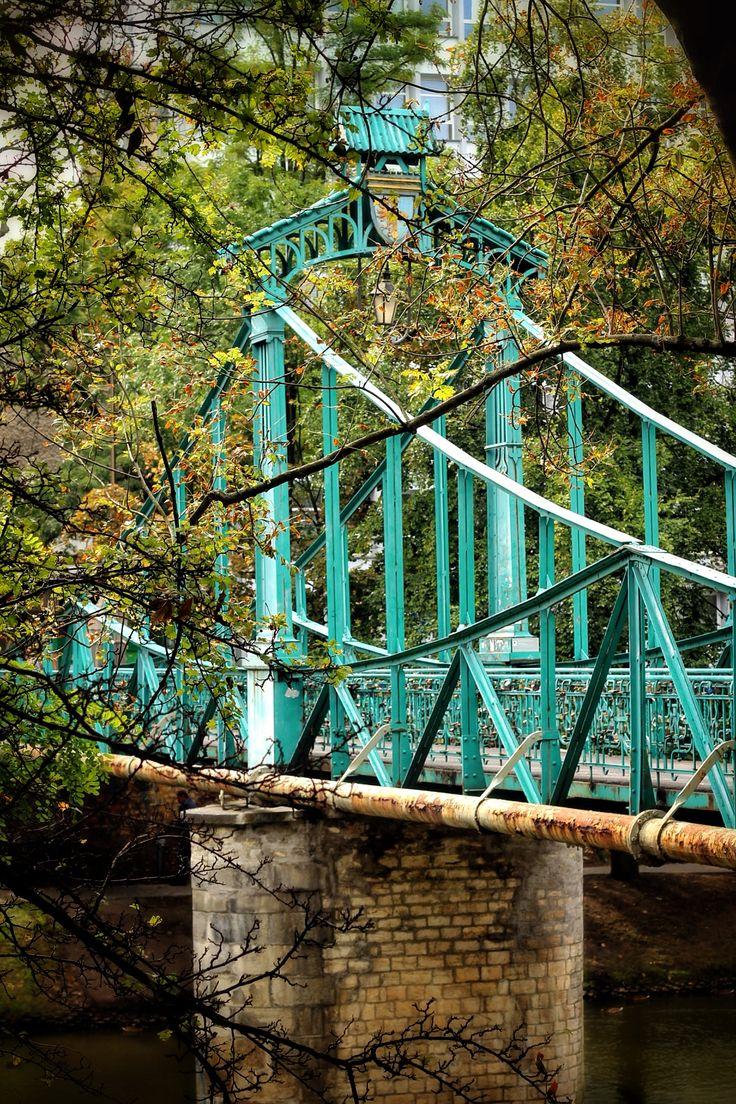Penny Bridge, Opole, Poland  #Opole #Poland #bridge