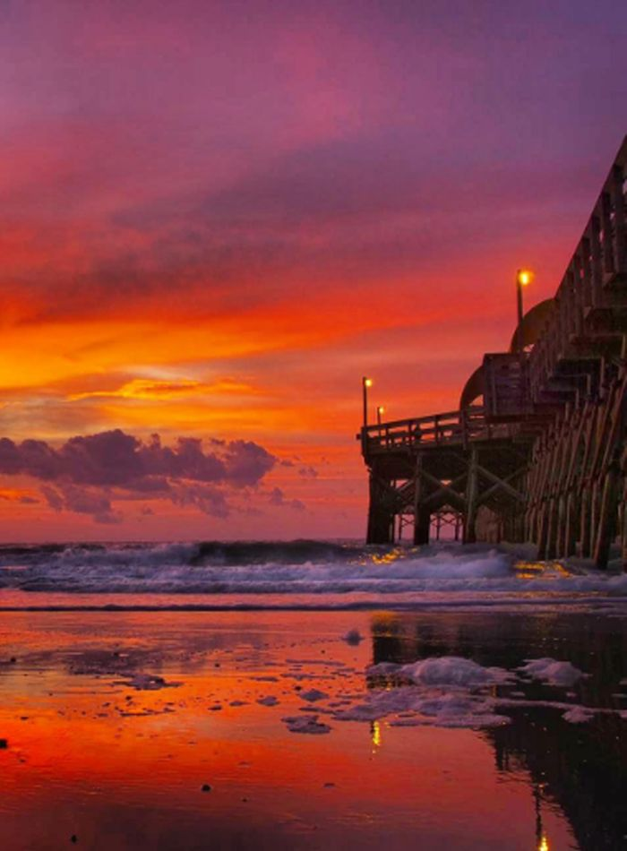 Sunrise Myrtle Beach South Carolina Apache Pier