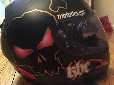 #apparel KBC Dark Motodesign Helmet - XL please retweet
