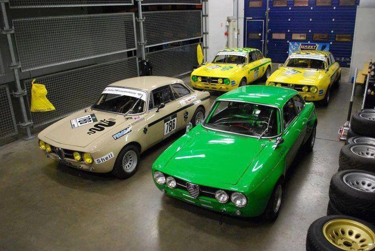 Alfa romeo gtv garage conveyance pinterest garage for Garage alfa romeo paris