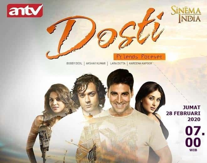 Sinopsis Film Dosti Friends Forever 2005 Di 2020 Film Bollywood Film Sinema