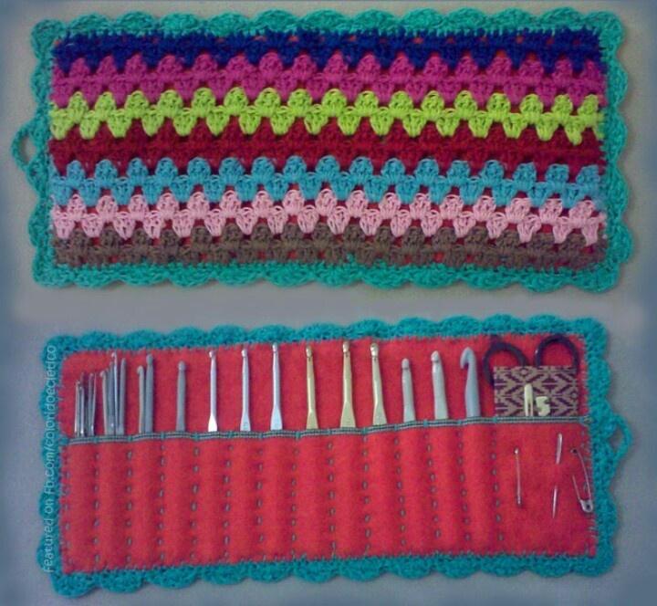 10 best crochet needle holder images on Pinterest   Crochet ideas ...