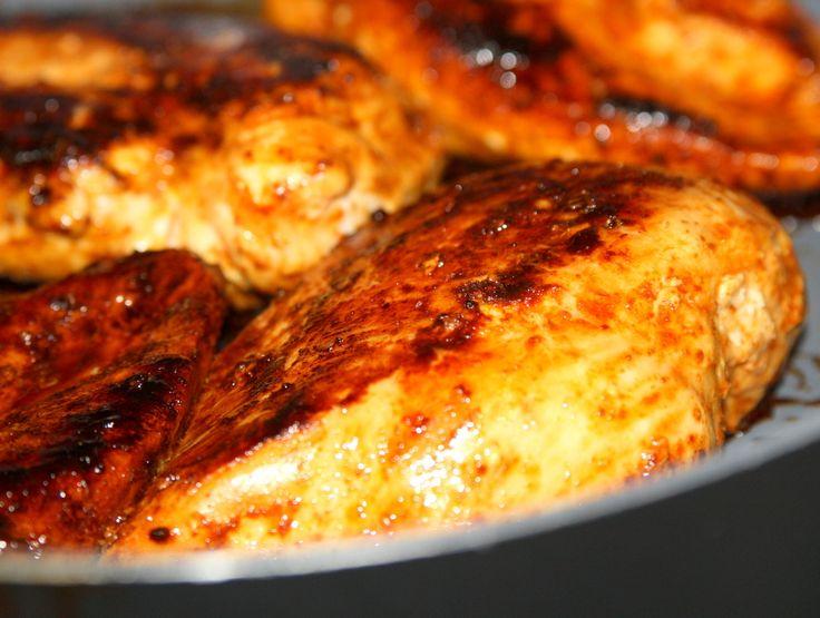 Stekt kyckling i soya | Jennys Matblogg