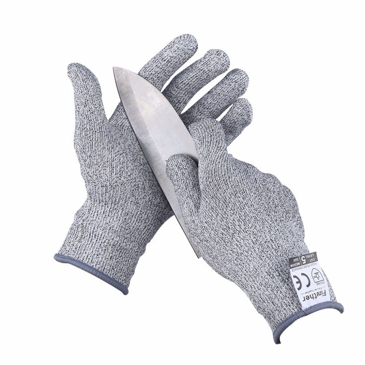 Finether Cut Resistant Gloves EN388 Level 5 Working Protective Gloves Anti Abrasion Safety Gloves Anti Cut Gloves Cut Resistance купить на AliExpress