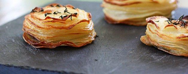 Roasted Potato Stacks – Recipe
