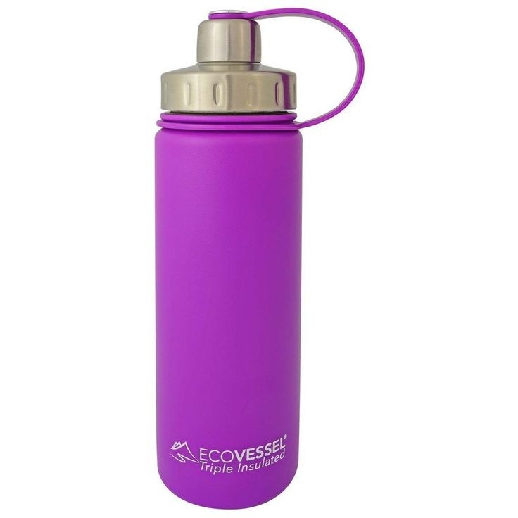 20 Oz Stainless Steel Water Bottle | Triple Insulated | Screw Cap | BOULDER by Eco Vessel