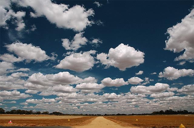 Amazing clouds!   Echuca, Victoria, Australia