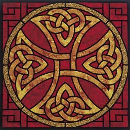 Red and Gold Celtic Knotwork-marketplace.secondlife.com