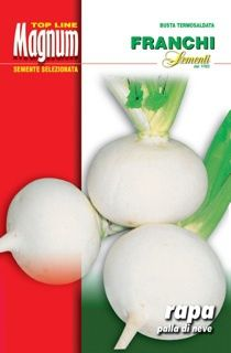 Turnip Palla di Neve (110-5) - Seeds from Italy