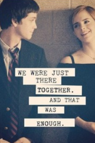 The Perks of Being a Wallflower // Logan Lerman // Emma Watson // #quote # film