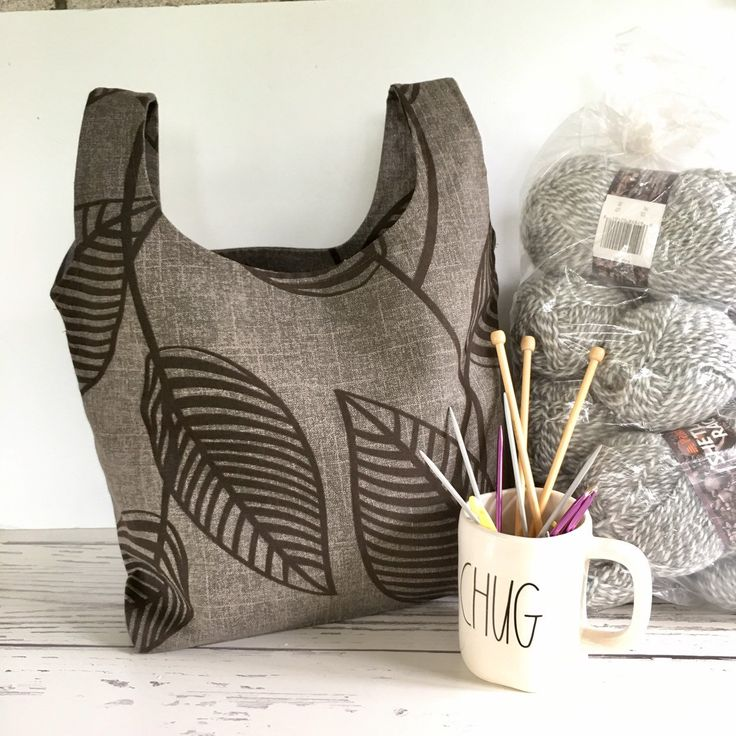 Cute Knit Market Tote Alert Work Up This Free Yarnspirations