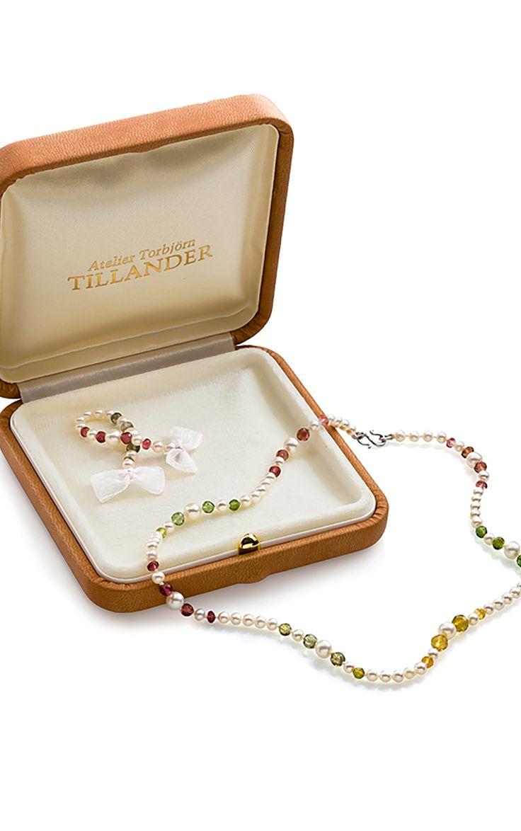Extendable gemstone Necklace