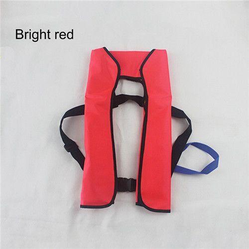 Automatic/Manuel Auto Inflate Inflatable PFD Survival Aid Sailing Life Jacket Vest