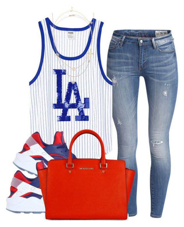 """La Dodgers"" by mindless-asia ❤ liked on Polyvore"