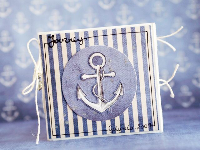 Card by AgnieszkaD / Off shore paper collection by P13