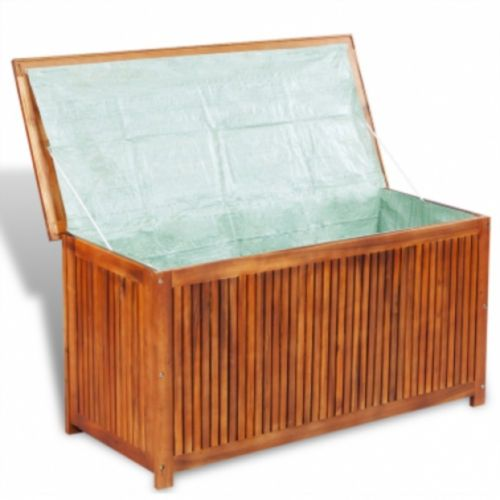 Outdoor Deck Storage Box Acacia Wood Compartment Lid Garden Chest Organizer New Outdoor Deck Storage Box Acacia Wood Compartment Lid Garden Chest Organizer New  Features:  Outdoor Deck Storage  This deck storage box will make a great addition to any outdoor living space, and it will help you to keep clutter at bay.    This sturdy storage chest is crafted from high-quality acacia wood, a tropical hardwood, which is weather-resistant and highly durable.    Thanks to its waterproof lining, this…