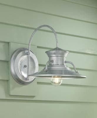 norwell lighting 1 light outdoor wall sconce from the budapest collection