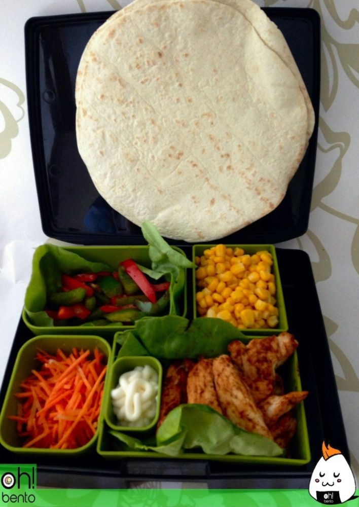 Laptop Lunches Review and Fajita Bento  @Jan Wilke Davis Lunches