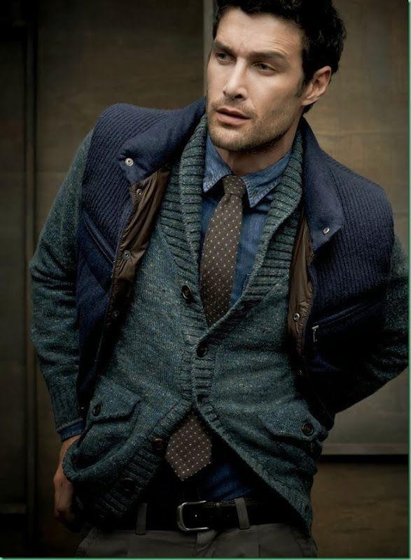 David Guillo for Brunello Cucinelli. Men's Fall Winter Fashion.