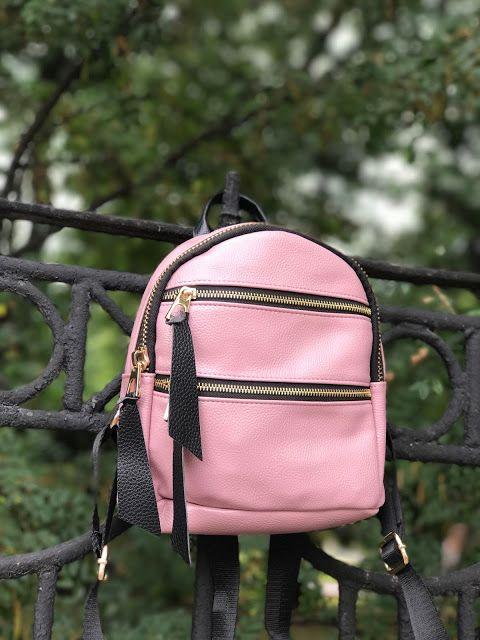 Back to school. Мой новый любимый рюкзак для прогулок.   Всем привет! Сегодня покажу вам свой новый рюкзак с сайта Zaful. Рюкзак пыльно - розового цвета с черными лямками и кусочками кожи которыми украшены все замки. Сам рюкзак очень мягкий и приятный на ощупь лямки удобно регулируются молнии тяжеленькие и отлично открываются (закрываются). Спереди у рюкзака 2 небольших кармана один на замочке внутри несколько без замков также внутри и один потайной кармашек на спине. ссылка на рюкзак тут…