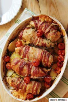 Pieczona pierś z kurczaka http://kobieceinspiracje.pl/22964,pieczona-piers-z-kurczaka.html
