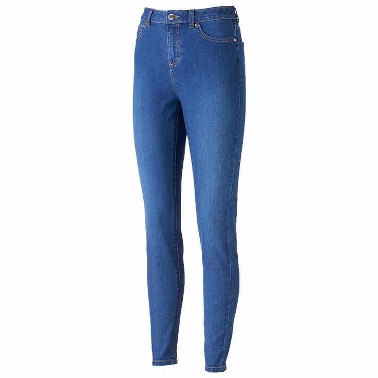 Women's Jennifer Lopez High-Rise Skinny Jeans,