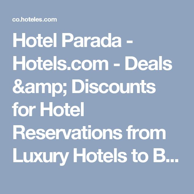 Hotel Parada - Hotels.com - Deals & Discounts for Hotel Reservations from Luxury Hotels to Budget Accommodations