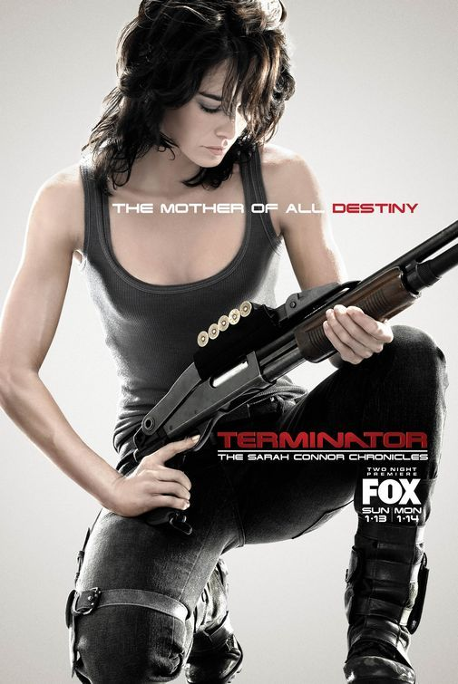 Terminator. The Sarah Connor Chronicles.     I loved Lena Headey much more as Sarah Connor than as Cersei Lannister.