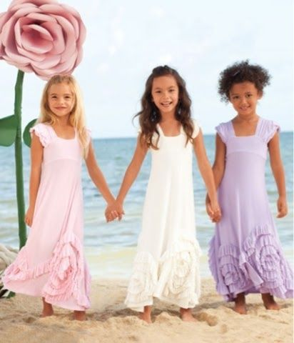 Little Girls Maxi Dresses
