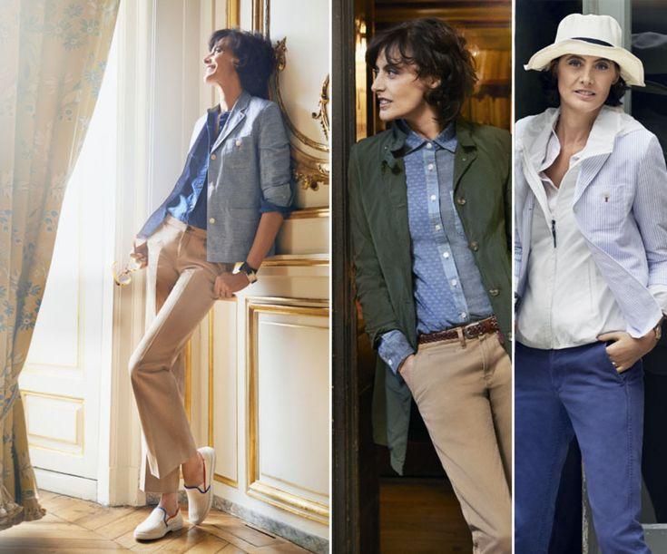Ines de la Fressange Uniqlo clothing collection