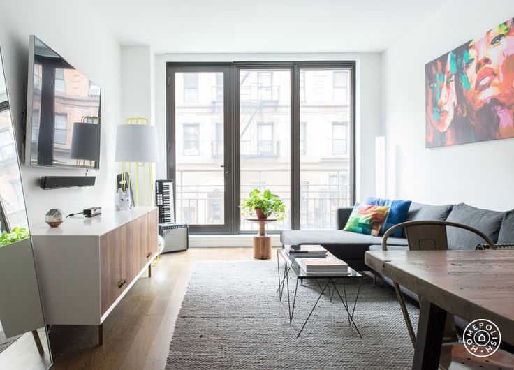 An Art-Filled East Village Bachelor pad - @Homepolish New York City