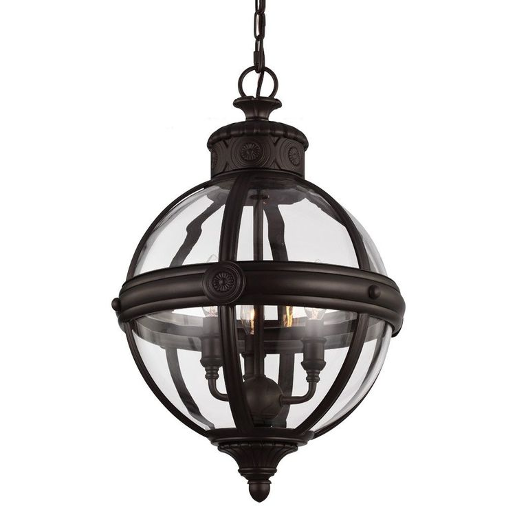 Adams VIctorian Pendant in Oil Rubbed Bronze by Feiss P1294ORB  sc 1 st  Pinterest & The 25+ best Victorian pendant lighting ideas on Pinterest ... azcodes.com