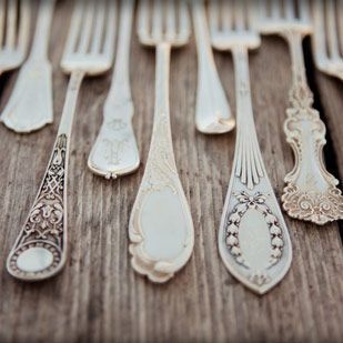 plain silver plated flatware caterer - Google Search