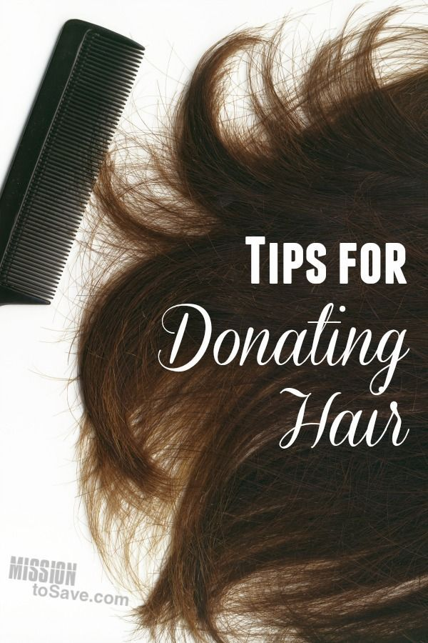 Considering hair donation? Check out these tips for donating hair. This generous way to give is meaningful for giver and receiver!