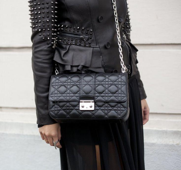 Miss Dior black large