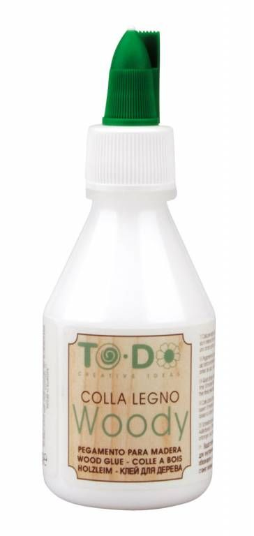 Colla per legno, Resistente all'umidità a base d'Acqua ml. 100 - By To-Do,