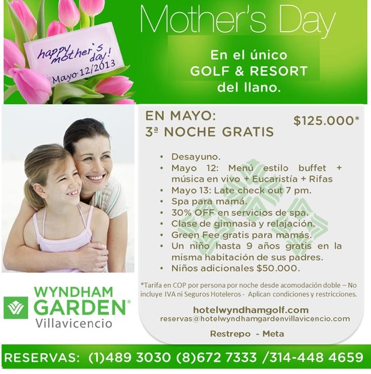No olviden hacer sus reservas para el día de la madre!!