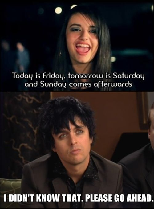 Who wrote her song? A 4 year old?Billie Joe knows better...and writes better and inspires people better and so on...