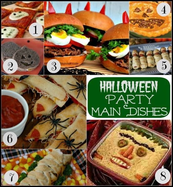 Halloween Party Food: Recipes for your Halloween Party, whether you need an appetizer or dessert or anything in between.  |   Pocket Change Gourmet