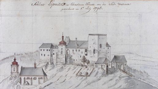 Castle Lipnice near Havlickuv Brod  (built in 14th century)