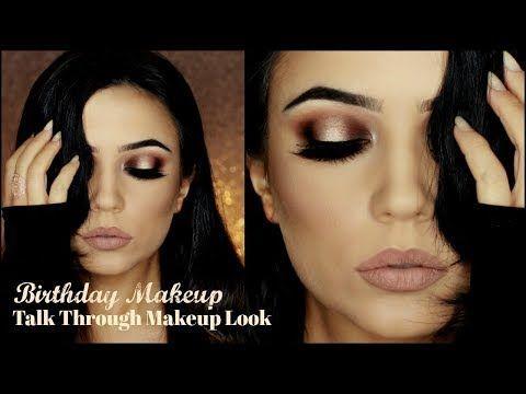Birthday Makeup Tutorial | Halo Dramatic Makeup | TheMakeupChair - YouTube