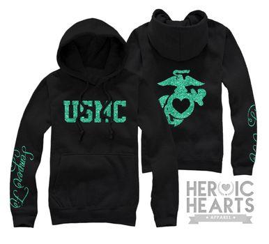 #USMC #military #veterans USMC hoodie! Http://heroicheartsapparel.com - Post Jobs and Become a Sponsor at www.HireAVeteran.com