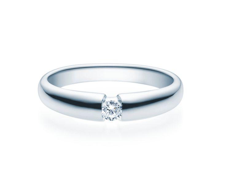 Verlobungsring Silber 0,08ct - 0,25ct. Tw/si Silberring #freundschaftsringe #trauringesilber #partnerringe #silberschmuck #verlobungsschmuck #verlobungsringe #eheringesilber #trauringeschillinger #juwelier