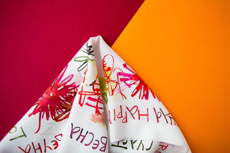 silk scarves / accessory / шелковый платок