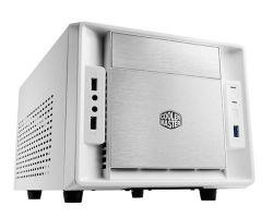 Cooler Master (RC-120A-WWN1) Elite 120 Advanced mITX számítógépház, fehér