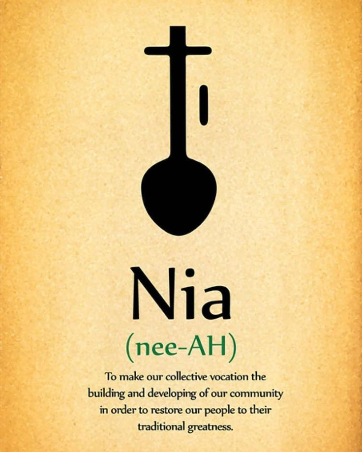 #HappyKwanza #Nia means Purpose!!! How do you find your purpose within the community?#blessing #KnowThySelf