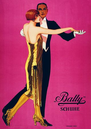 Stylish Bally Shoes dancers c. 1920s  http://www.vintagevenus.com.au/vintage/reprints/info/FAS172.htm