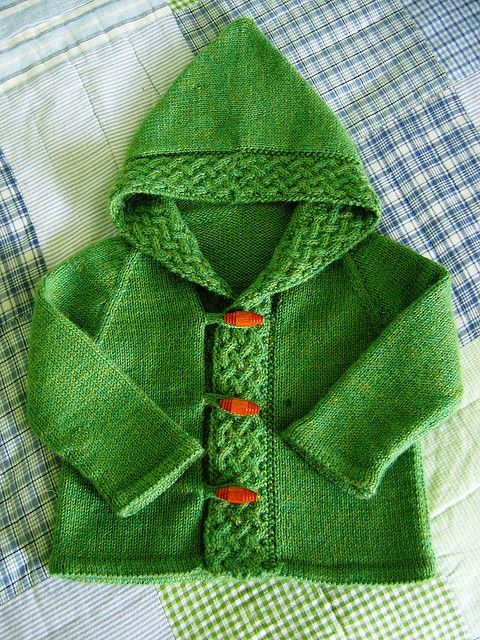 Cardigan for Merry free knitting pattern.